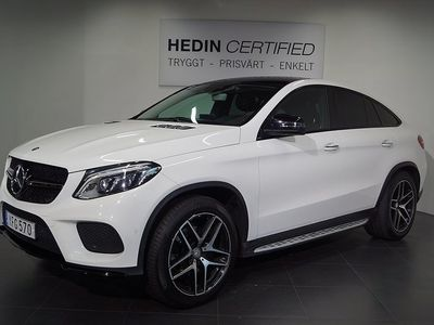 begagnad Mercedes GLE350 - Benzd 4MATIC Coupé 9G - Tronic AMG Paket 258hk