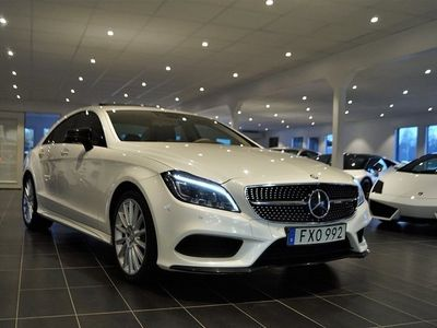 begagnad Mercedes CLS350 BlueTEC 9G-Tronic Designo, AMG Sport, Exclusive, Exclusi