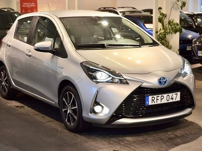begagnad Toyota Yaris Hybrid 1.5 Gps Aut 575mil 101hk