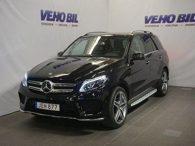 begagnad Mercedes GLE350 4-Matic AMG 360-Kamera Värmare Aut Drag Nav ILS