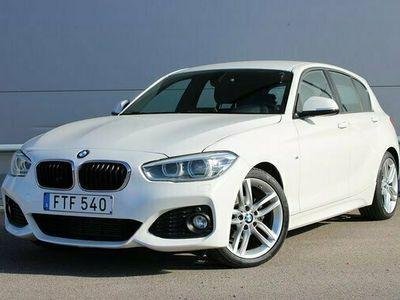 begagnad BMW 118 d M Sport Aut 150hk Drag EU6 Led