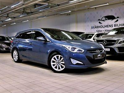 begagnad Hyundai i40 2.0 PREMIUM KOMBi PANORAMA GPS K-LESS AUTO