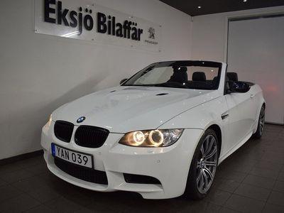 begagnad BMW M3 Cabriolet Drivelogic 420hk