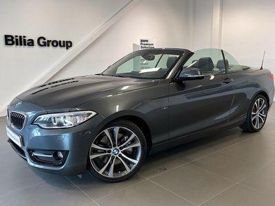begagnad BMW 228 i Convertible   Sport line   Aut   HiFi   Comfort Access