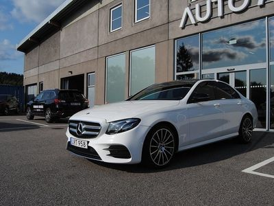 begagnad Mercedes E220 4MATIC 194hk / 9G-Tronic / AMG / Panorama