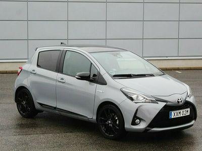 begagnad Toyota Yaris Hybrid 1.5 VVT-i Euro 6 GR EDITION GREY 101hk