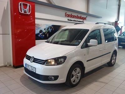 begagnad VW Caddy Life 2.0 TDI 140 HK 5-SITS D-
