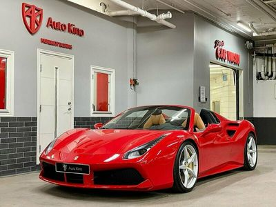 begagnad Ferrari 488 GTS SPIDER 3.9 V8 LIFTING P-DISPLAY 670hk