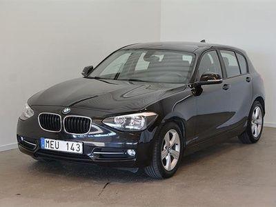 begagnad BMW 116 5dr. F20 Sportline 2012, Personbil 104 500 kr