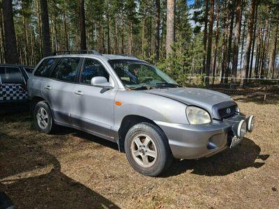 begagnad Hyundai Santa Fe GLS 2,4