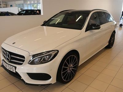begagnad Mercedes C220 d 4Matic / AMG / D-värmare / Nightpaket
