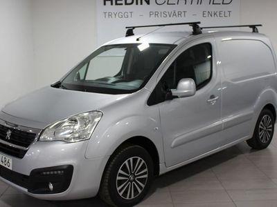 begagnad Peugeot Partner L1 1.6 BlueHDI 100HK Webasto/Drag
