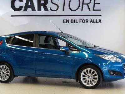 begagnad Ford Fiesta 1.0 Trend 80 hk Halvskinn