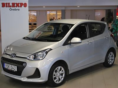 begagnad Hyundai i10 1.0 M5 Comfort 2018, Halvkombi 89 800 kr