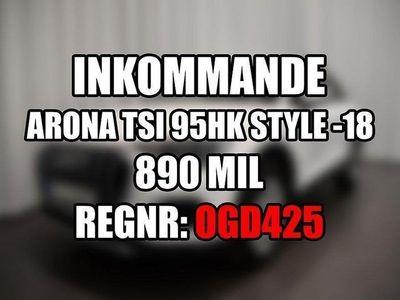 begagnad Seat Arona TSI 95hk Style