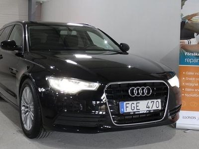 begagnad Audi A6 2.0 TDI Pro Line 177hk VÄRMARE DRAG -13