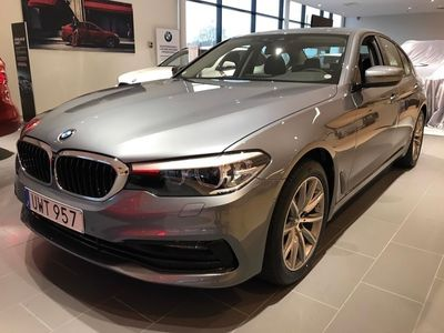 brugt BMW 520 d Sedan Sport Line/Nav/Drag -19
