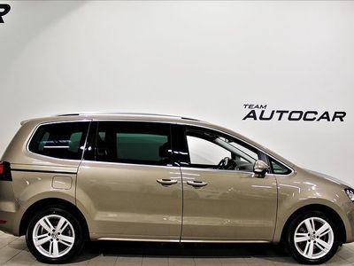 begagnad VW Sharan 2.0 TDI Premium Värmare Panorama