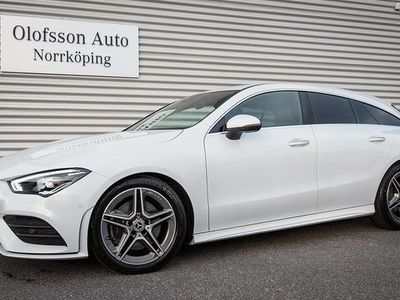 begagnad Mercedes 200 CLA BenzShooting Brake AMG Navi Keyless 2020, Sportkupé 357 500 kr