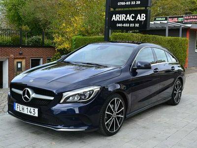 begagnad Mercedes CLA200 Shooting Brake d 200D Aut / Dragkrok / Värmare / 4482 mil !! /
