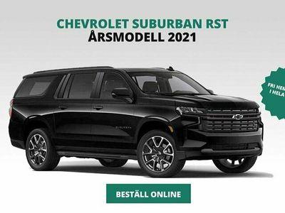 begagnad Chevrolet Suburban Z71 5,3L V8 355hk Årsskatt 2083kr