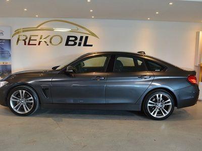begagnad BMW 420 Gran Coupé d xDrive D Sport Line EU6