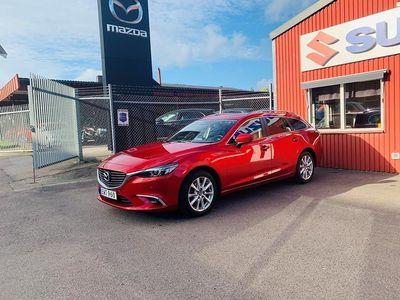 begagnad Mazda 6 Vision Wagon 2.0 SKYACTIV-G 165hk