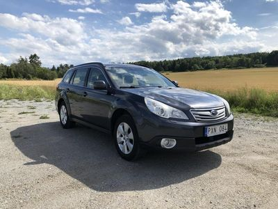 begagnad Subaru Outback 2.5 CNG 4WD