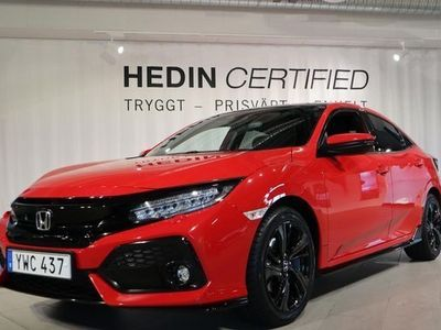 begagnad Honda Civic 5-dörrar 1.5 Sportplus 2018, Sedan Pris 177 900 kr