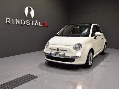 begagnad Fiat 500 1.2 69 HK LOUNGE KAMREM BYTT 9300MIL