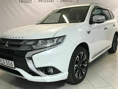 begagnad Mitsubishi Outlander 2.0 PHEV Business Drag Panorama