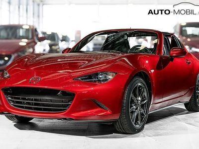 begagnad Mazda MX5 RF 2.0 184 hk. Svart skinn