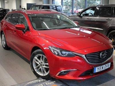 begagnad Mazda 6 6Wagon Optimum 2.5 Aut - MOTORVÄRMARE 2016, Personbil 214 800 kr