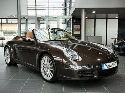 begagnad Porsche 911 Carrera 4S Cabriolet 911 997 Sv-Såld -08