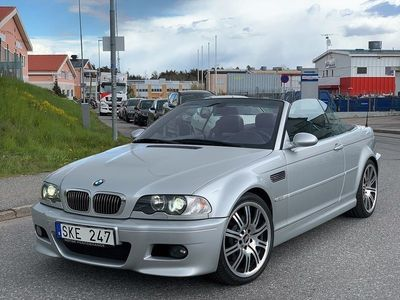 begagnad BMW M3 Convertible SMG 343hk FACELIFT