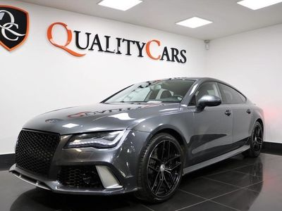 begagnad Audi RS7 Sportback 4.0 TFSI V8 quattro Black Optik 560hk