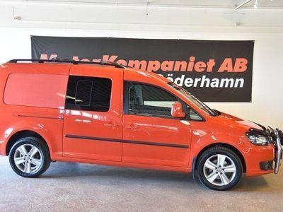 begagnad VW Caddy Maxi Life 2.0 TDI 4Motion 7-sits 140hk
