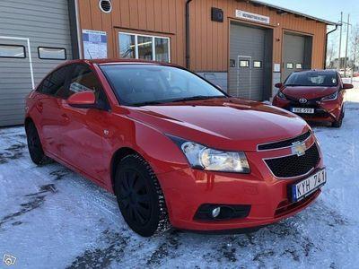 begagnad Chevrolet Cruze Sedan 1.6 113hk Nybesiktad lå -10