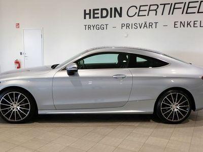 begagnad Mercedes C220 C-KLASSd Coupé AMG /Navi / Nyservad