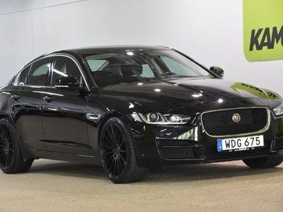 begagnad Jaguar XE 20d Automatisk Nav Diselvärmare S&V-Hjul 180hk