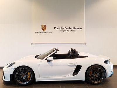 begagnad Porsche 718 Spyder 420hk Se spec!