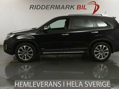 begagnad Kia Sorento 2.2 CRDi 4WD Navi B-kamera Skinn Fullservad