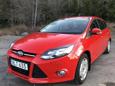 begagnad Ford Focus 1.6 Flexifuel Kombi