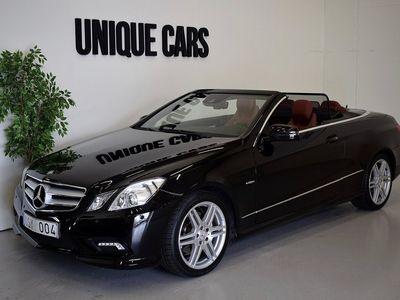 begagnad Mercedes 350 E-KlassCab 292hk AMG Navi H/K