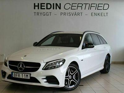 begagnad Mercedes 300 - Benz C - Klassde PLUG - IN AMG Night, Drag, Värmare,