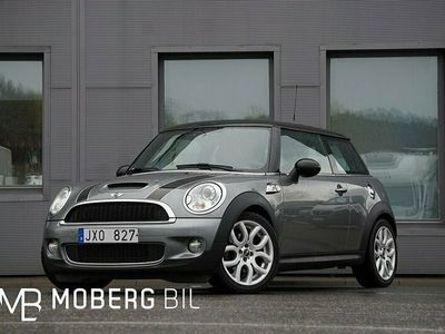begagnad Mini Cooper S 174hk Hifi PDC Chrome Line