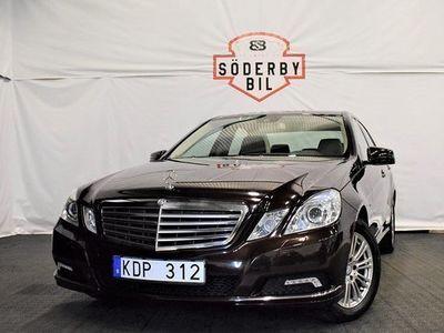 begagnad Mercedes E220 E BenzELEGANCE DRAG 2010, Personbil 179 900 kr