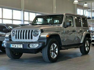 begagnad Jeep Wrangler Unlimited Sahara 2.2 CRD 4WD Aut 2018, SUV Pris 459 000 kr