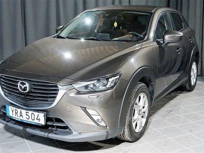 begagnad Mazda CX-3 2.0 SKYACTIV-G Navi, 120hk