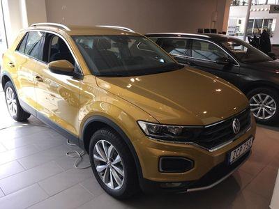 begagnad VW T-Roc 1.0 TSI Köp samt privatleasing.